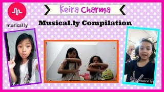 KEIRA CHARMA MUSICALLY COMPILATION ♥ Musically Indonesia