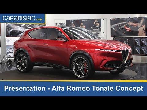 Présentation - Alfa Romeo Tonale Concept : réalité future proche