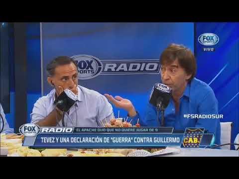 Fox Radio 29 Marzo 2018 Tévez no quiere jugar de 9 Charla con Pampa Biaggio