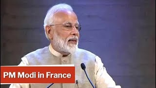 PM Modi's Full Speech At UNESCO Headquarters In France