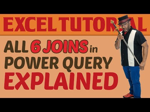 Merging Data with the 6 Joins in Power Query: Explained