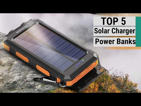 Top 5 Best Solar Charger Power Banks 2021
