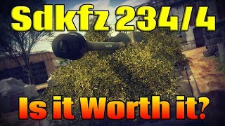 War Thunder: Sdkfz-234/4 Is it worth it? (War Thunder gameplay)