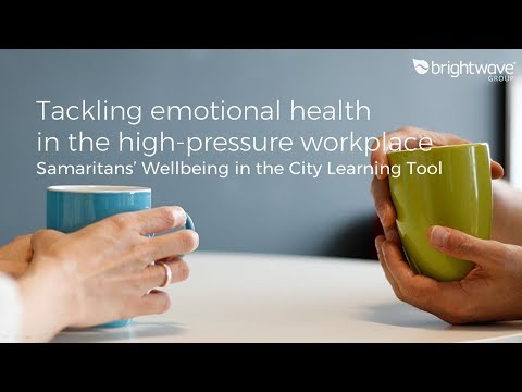 Webinar: emotional health in the high-pressure workplace: Wellbeing in the City