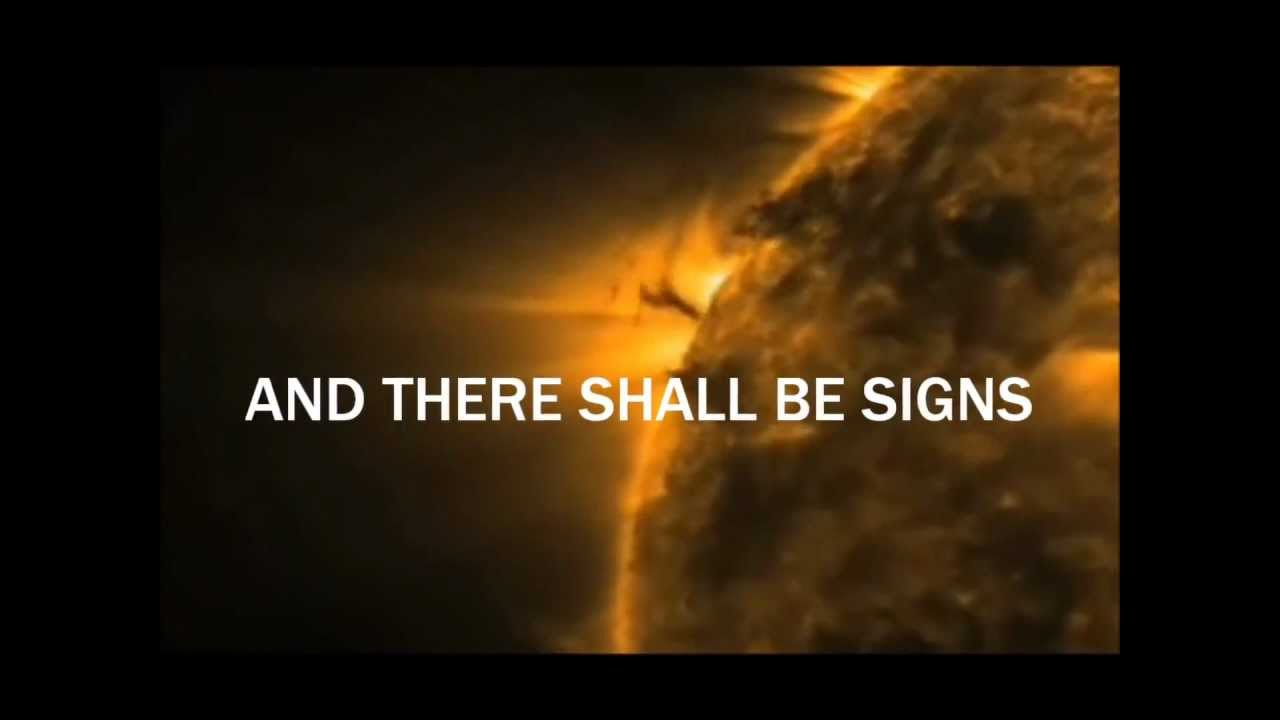 Worksheet The Sun And The Stars 2012 great signs in the sun moon and stars mp4 youtube mp4