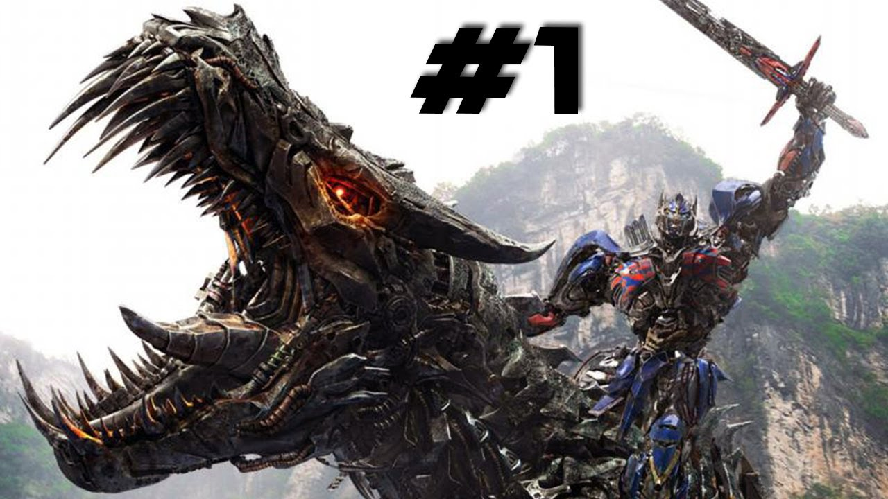transformers 4 full movie-game - walkthrough part 1 - optimus prime