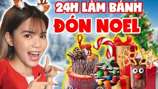 24H CAKE COOKIES AND NOEL DECORATIVE PLANT | SUNNY TRUONG