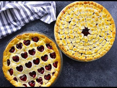 Valentine's Cherry Pie 2 Ways