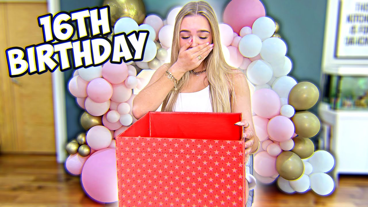 HER 16TH BIRTHDAY! THIS PRESENT MADE EVERYONE CRY 😭