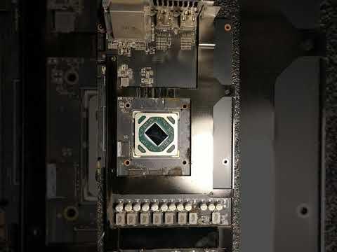 Как поменять термопасту на видеокарте ASUS 580 STRIX.