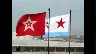 Russian Flags - 35th Coastal Battery - Sevastopol