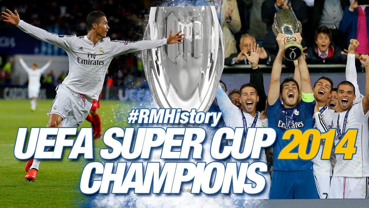 🔥 UEFA Super Cup 2014 | Real Madrid 2-0 Sevilla | 2 Cristiano goals!