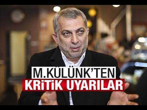 """""""Siz hâlâ meseleyi İstanbul mu sanıyorsunuz"""" Metin Külünk'ten uyarılar"""