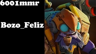 Dota 2 - Bozo_Feliz Top 1 mmr BR plays Tinker - Ranked Match