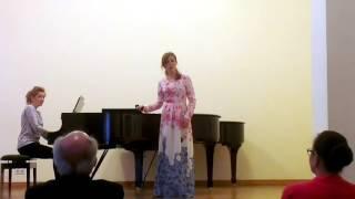 Camille Saint-Saens - La Brise - Diana Kirienko (Gnesin Academy, Moscow)