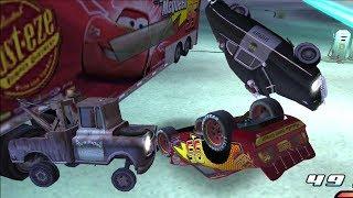 Disney Pixars Cars Movie Game Crash Mcqueen 186 - Night Backwards Bump