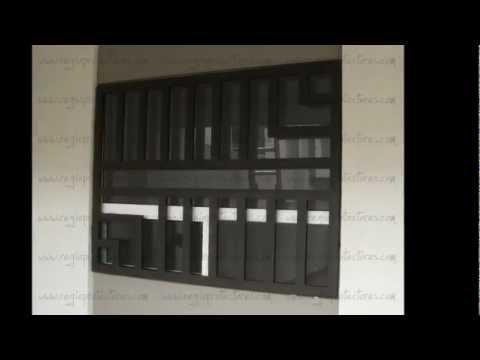 Regio protectores casa blanca xlvi youtube for Puertas para casas minimalistas