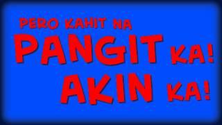 Repeat youtube video Toni Gonzaga - Kahit Na (Lyric Video)
