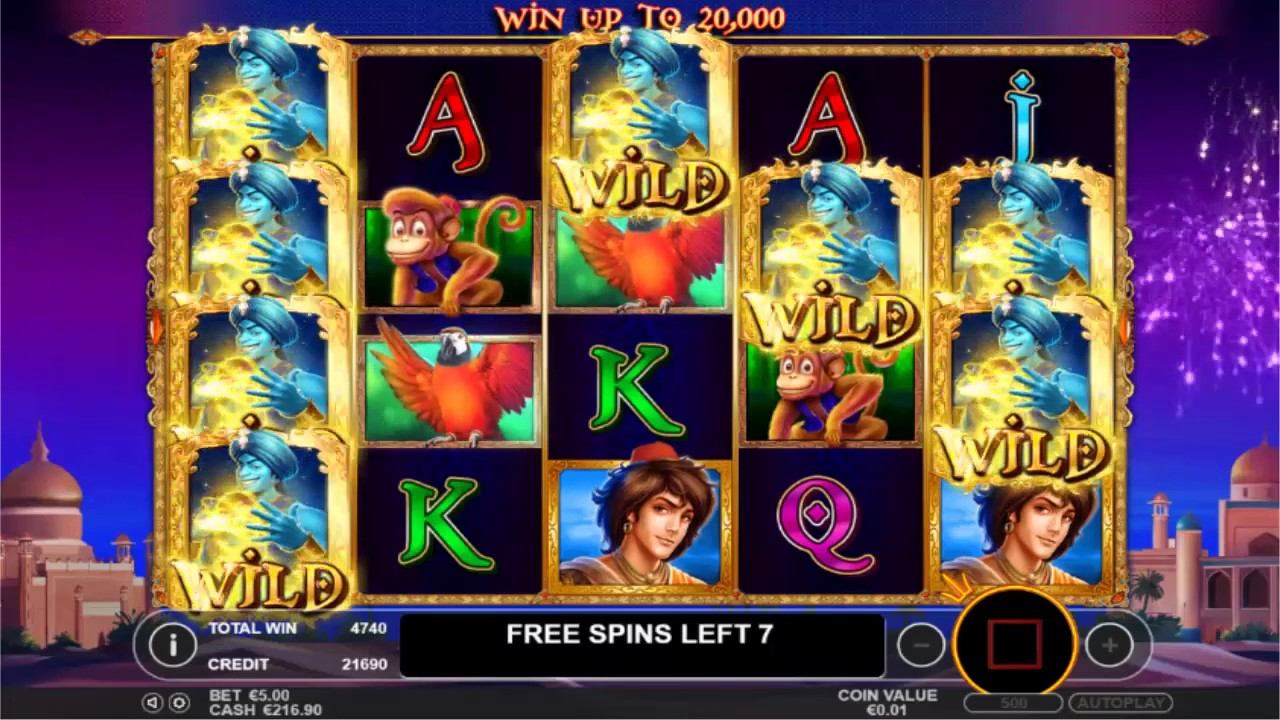 Genie Wishes Slot Machine