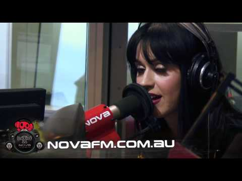 Katy Perry reveals her alias live on national radio.