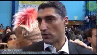 01-12-2013: Andrea Giani nel post Molfetta-Verona 3-0
