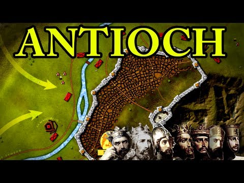 First Crusade: Siege of Antioch 1098 AD