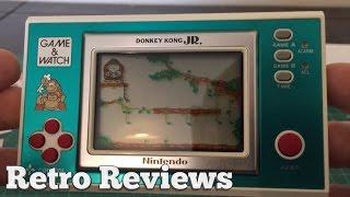Retro Reviews - Donkey Kong JR Game & Watch!