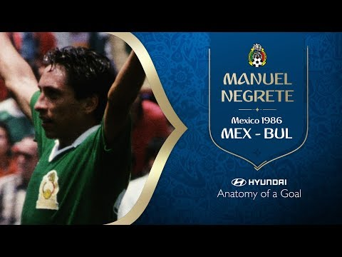 Manuel Negrete Goal | Mexico v Bulgaria | 1986 FIFA World Cup