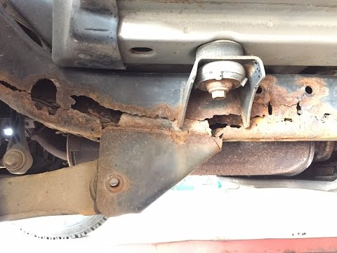 Jeep Wrangler Rusty Frame Repair