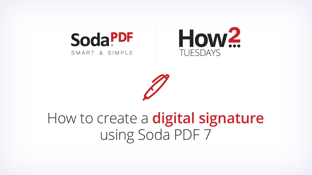 How To Add A Digital Signature To Your Document Using Soda Pdf