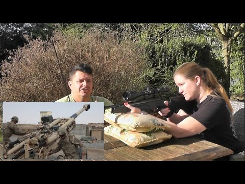 Artillery Hold : [how to] fire a spring air rifle
