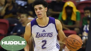 Can Lonzo Ball CARRY the Lakers into the Playoffs? -The Huddle