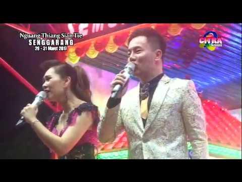 侯俊辉 和 黄晓凤 (马来西亚歌手) 在 大坡,丹戎槟榔 印尼 演出 《冬恋》