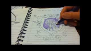 How to Draw - Saints Row The Third Logo