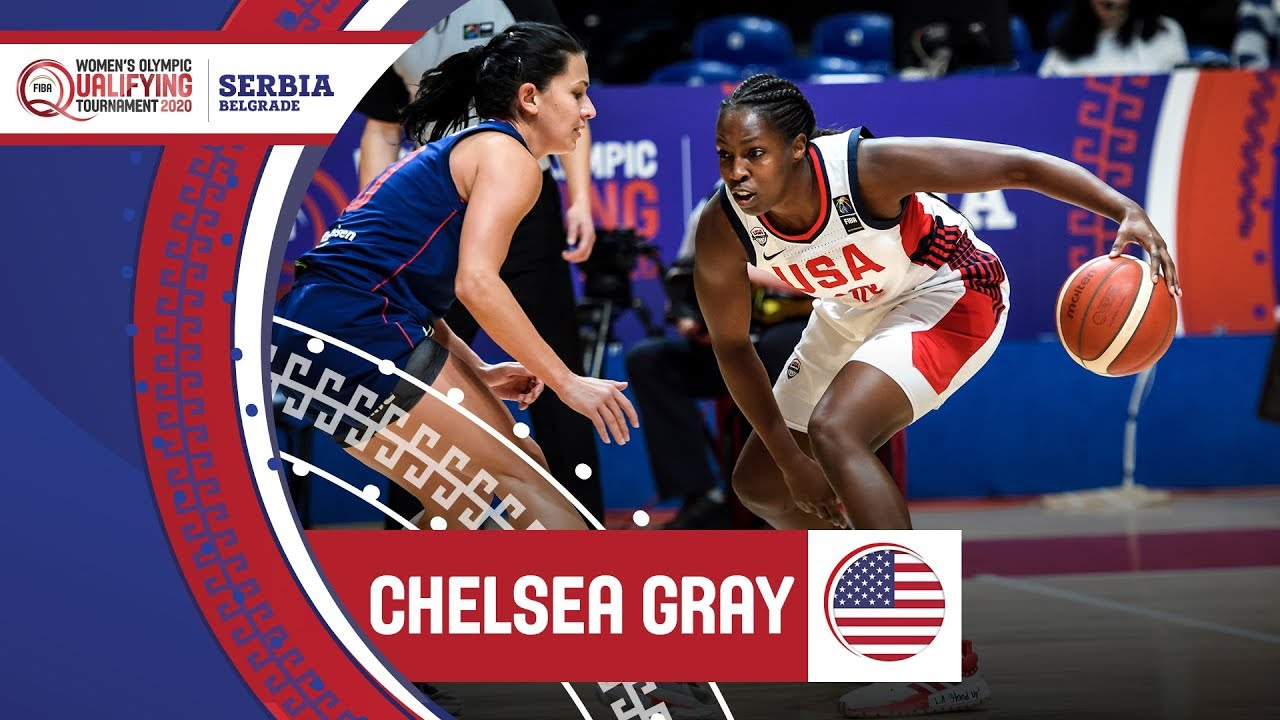 Chelsea Gray (USA) - Highlights