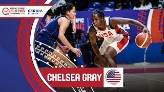 Chelsea Gray (USA) - Highlights | FIBA Women's Olympic Qualifying Tournament 2020