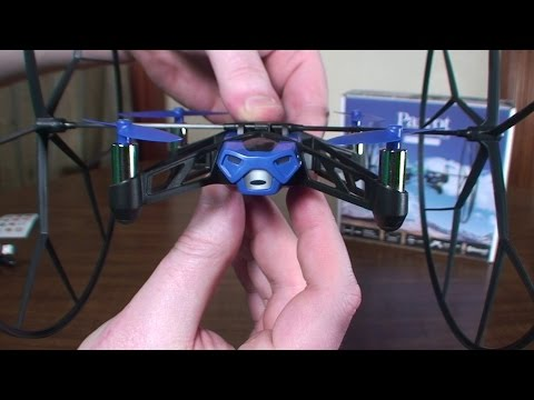Parrot Mini Drones - Rolling Spider - Review and Flight