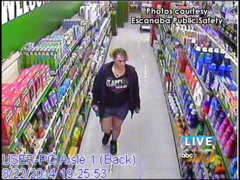 Escanaba Public Safety looks for woman in retail fraud case
