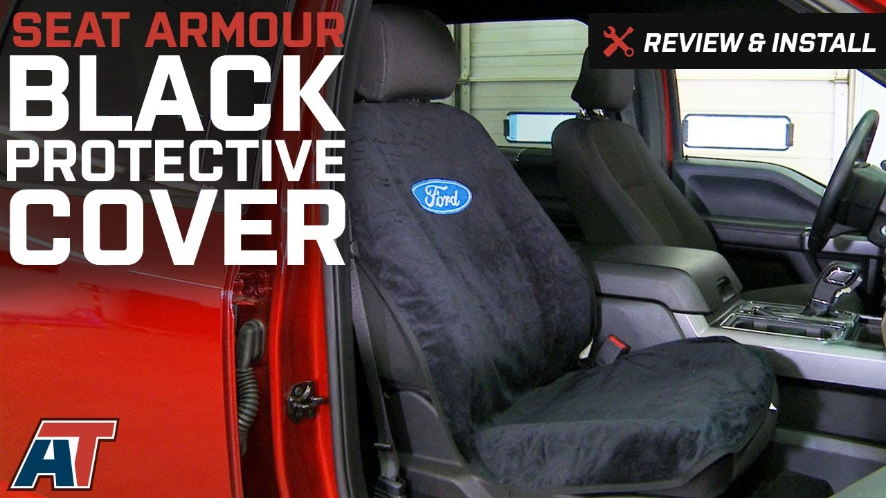 2016 F150 Seat Covers >> 1997 2016 F150 Seat Armour Black Protective Cover Review Install