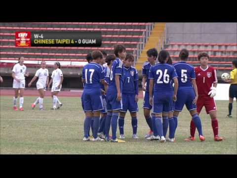 CHINESE TAIPEI - GUAM Highlights (Women's)