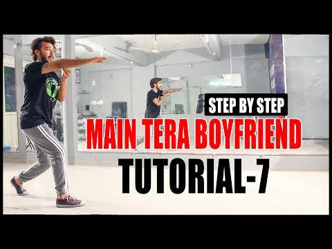Dance Tutorial Main Tera Boyfriend | Step by step | Bolly-Hop | Vicky Patel Choreography