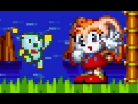 Cream The Rabbit In Sonic Mania