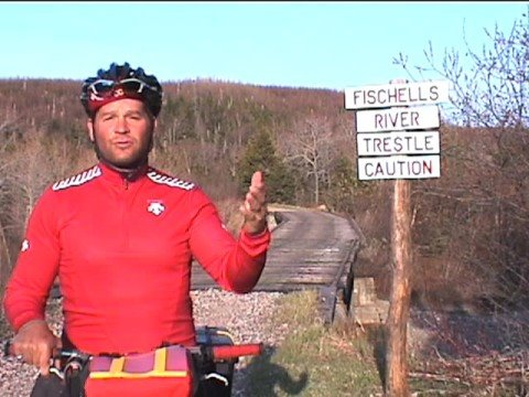 "Trans Canada Trail Solo Bicycle Expedition  ""Newfoundland"""