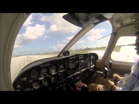 Flight instruction in Seneca PA34-200