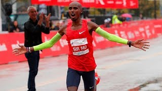 Mo Farah Wins 2018 Chicago Marathon in 2:05:11 European Record