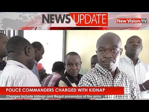 Police commanders charges with Kidnap