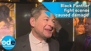 Andy Serkis says Black Panther fight scenes 'caused damage'