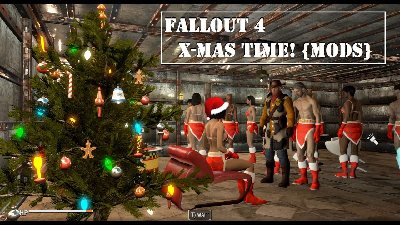 FALLOUT 4: CHRISTMAS MODS! - YouTube
