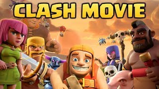 Full Clash of Clans Movie 2018 | How Every Troop was Created in Clash of Clans & Clash Royale