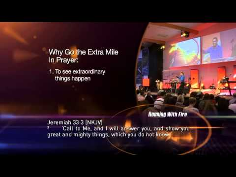 Go the Extra Mile in Prayer
